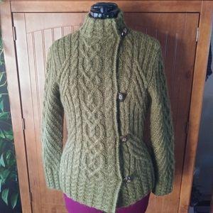 ICELANDIC Design Knit Cottagecore Style Sweater